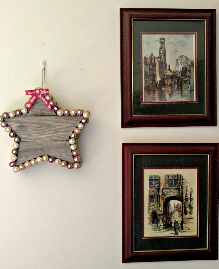 Display you Rustic cork Christmas Star with pride