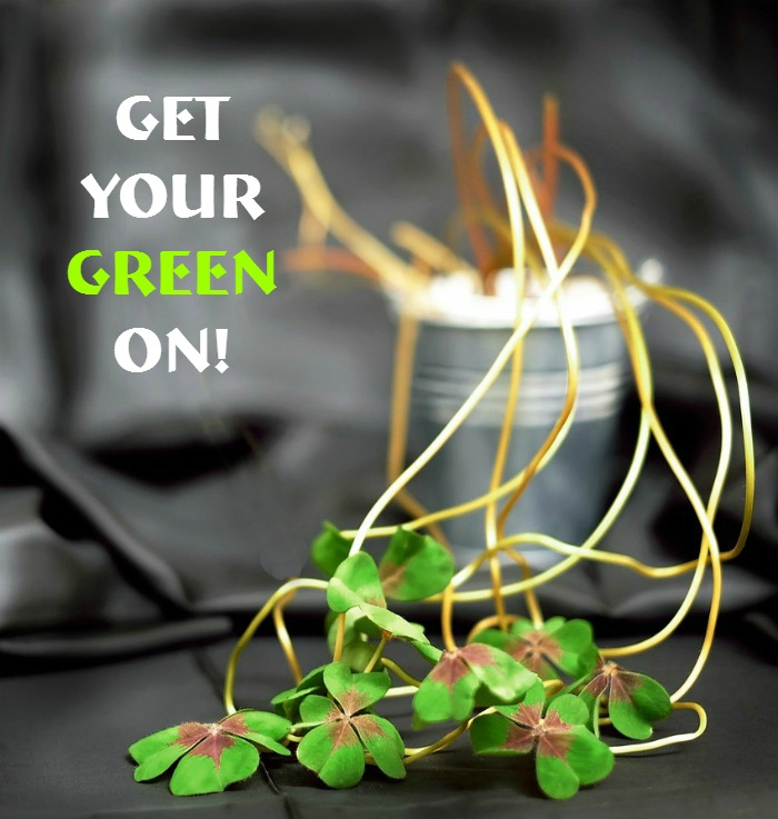 Get your green on Quote.