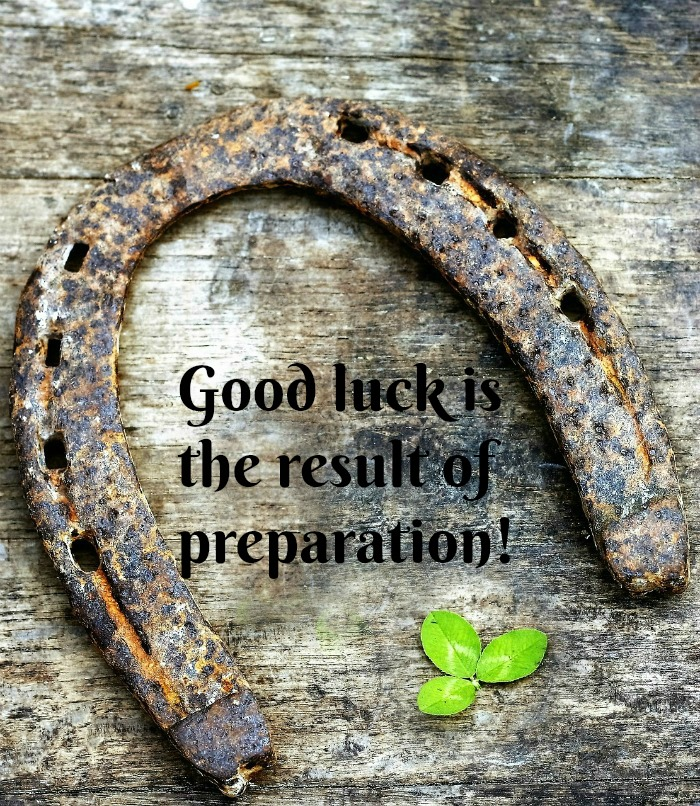 Good luck quote