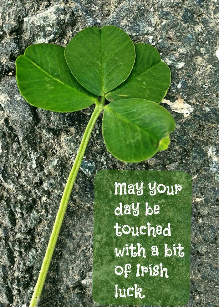 Irish luck quote
