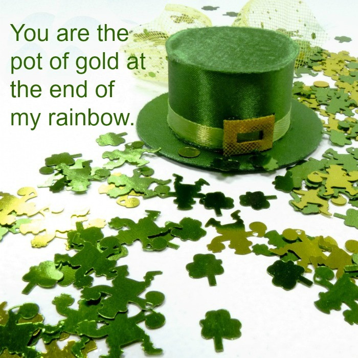 Pot of gold quote