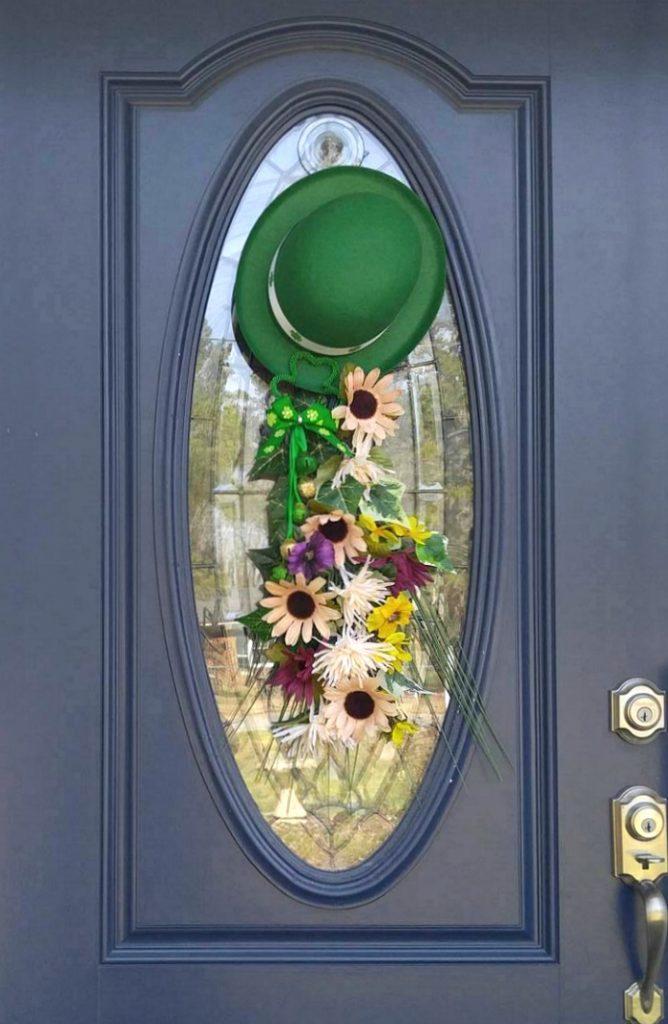 Leprechaun Hat Door Hanging