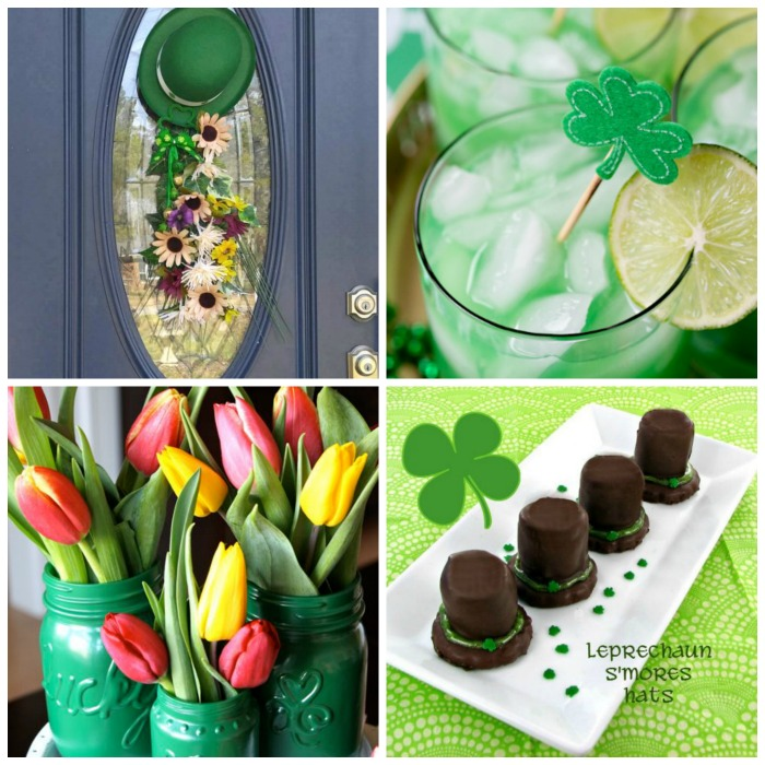 These St. Patrick's Day fun food & decor projects will really set the mood for your St. Paddy's day gathering.