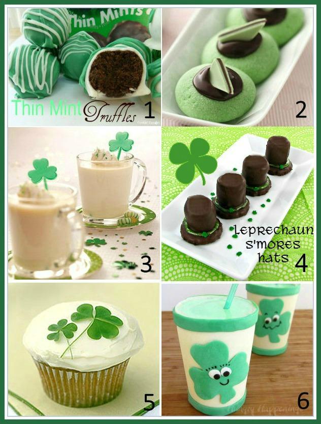 St. Patrick day sweet treats