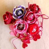 Tootsie Pop Flower Valentine