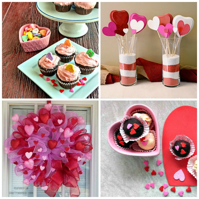 alentine's Day recipes and craft ideas