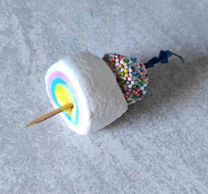 marshmallow allsort garnish