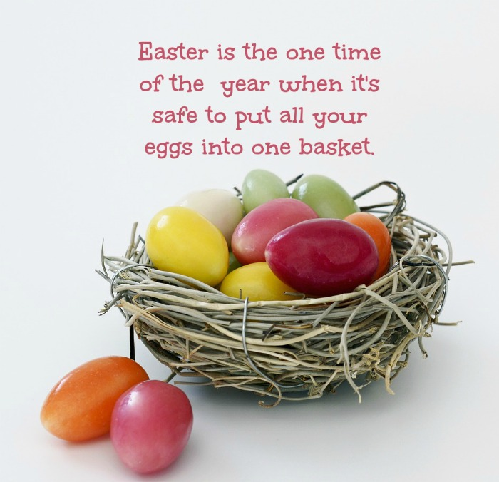 Easter basket quote