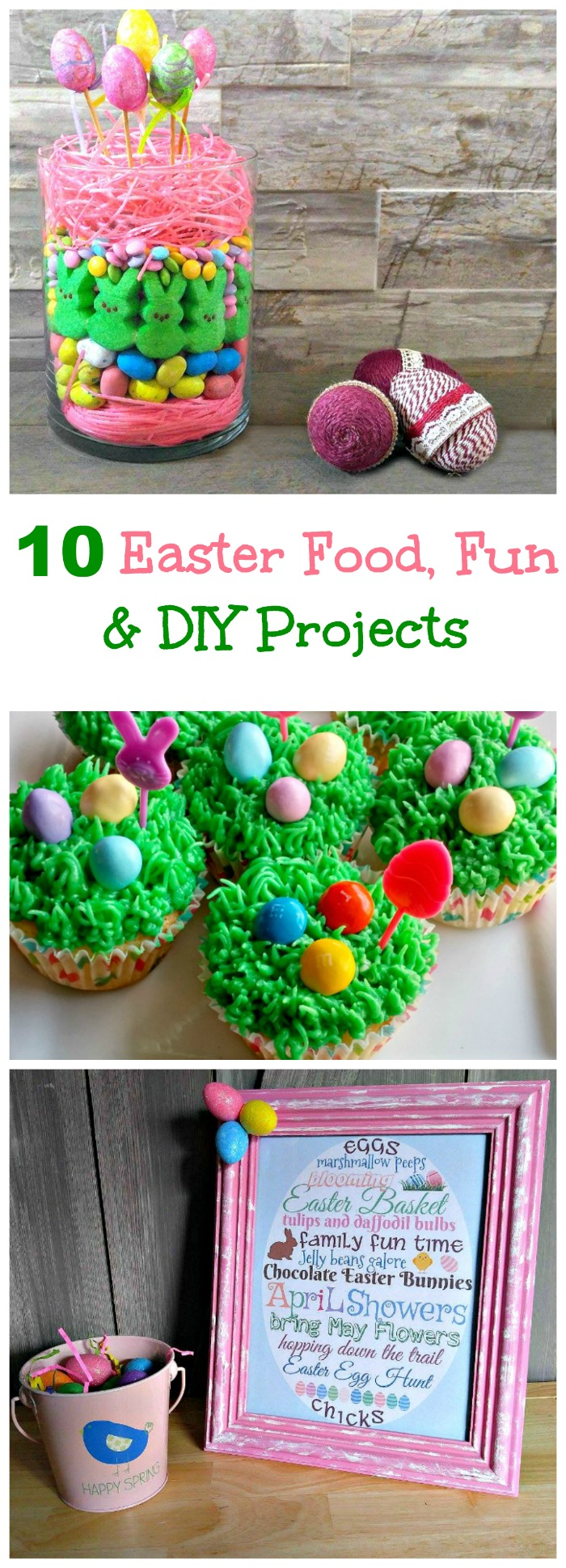 these 10 Easter fun with food, DIY and decor projects are the perfect way to celebrate Easter.
