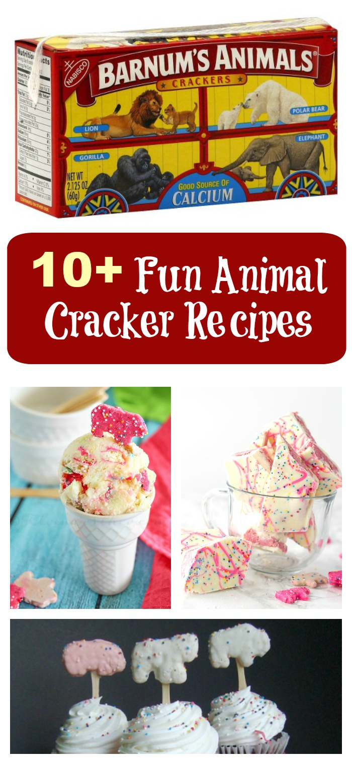 These fun Animal Cracker Recipes are a great way to incorporate the your child's favorite cracker into a fun dessert.