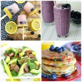 Collection of blueberry recipes