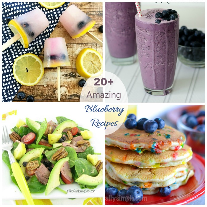 Collection of 20+ Amazing Blueberry Recipes