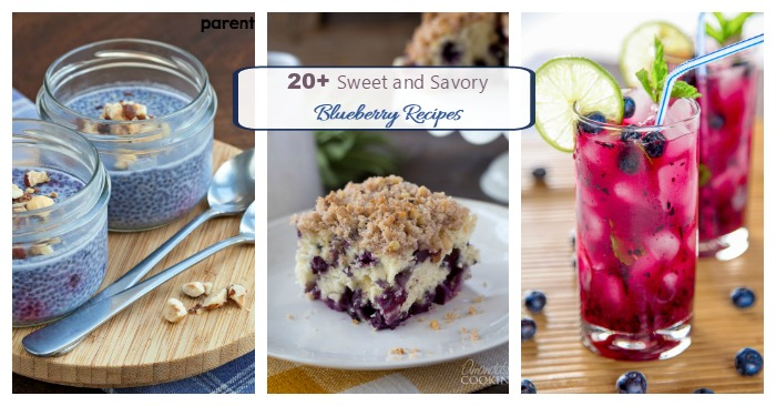 Bring on summer with these amazing blueberry recipes.
