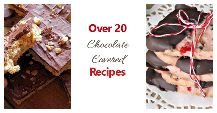 Try one of these Chocolate Covered Recipes for your dessert table