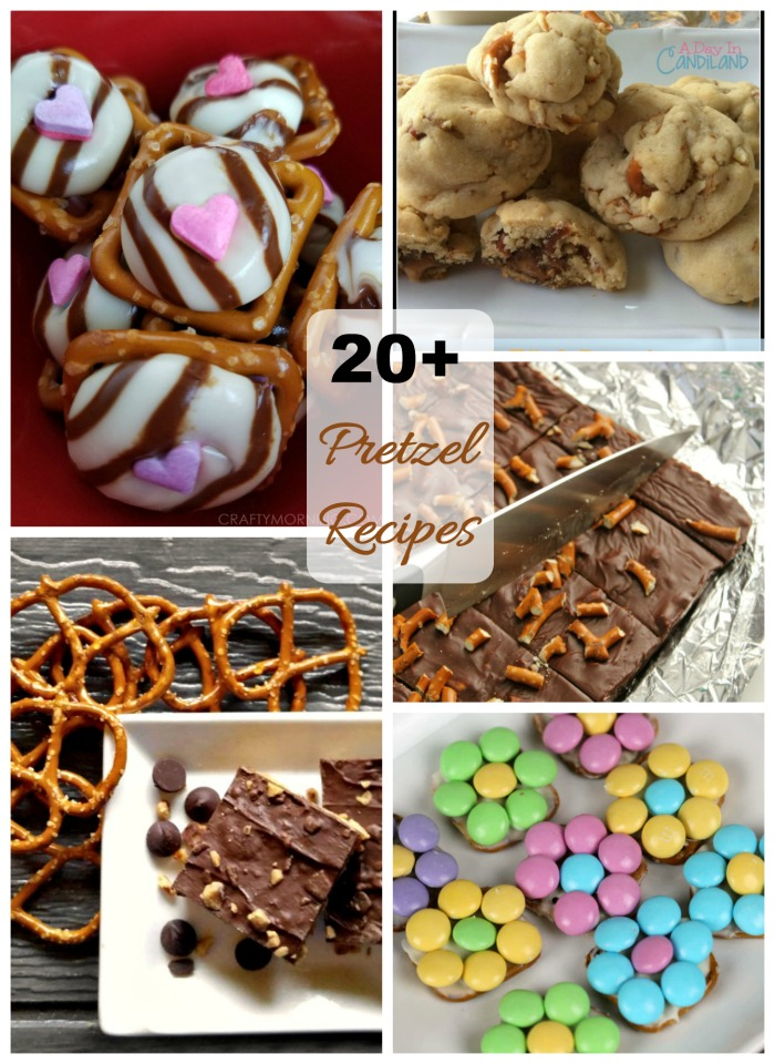 These sweet pretzel recipes turn ordinary desserts into something special.