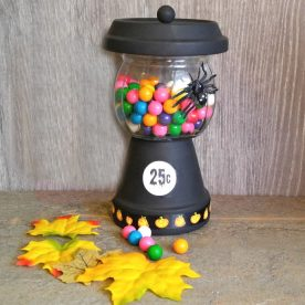 Halloween Bubble Gum Jar