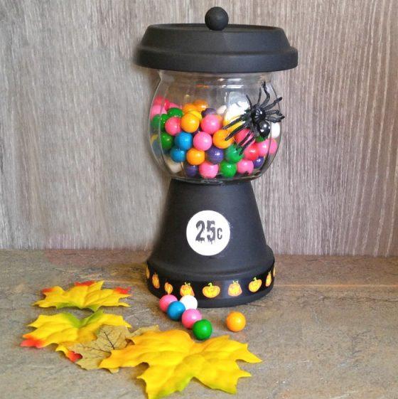Halloween Bubble Gum Jar