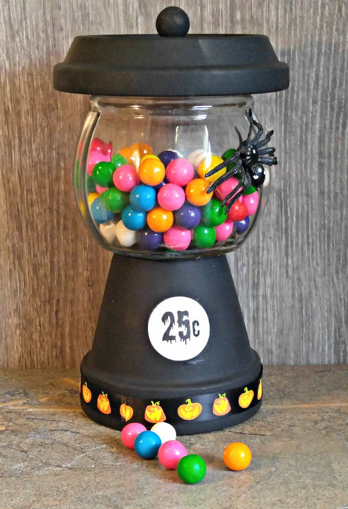 Halloween Gumball Machine