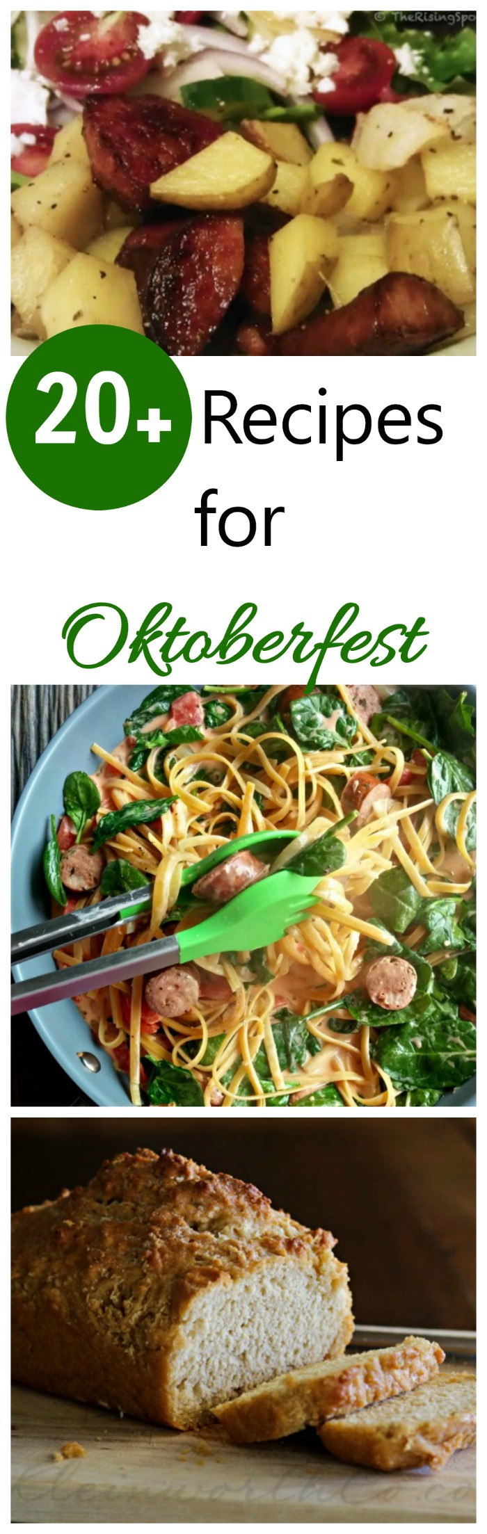 These 20+ recipes are the perfect way to celebrate Oktoberfest. #oktoberfest #beerfestival