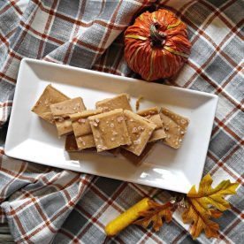 Salted Pumpkin Fudge