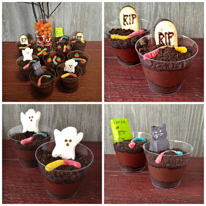 types of dirt cups