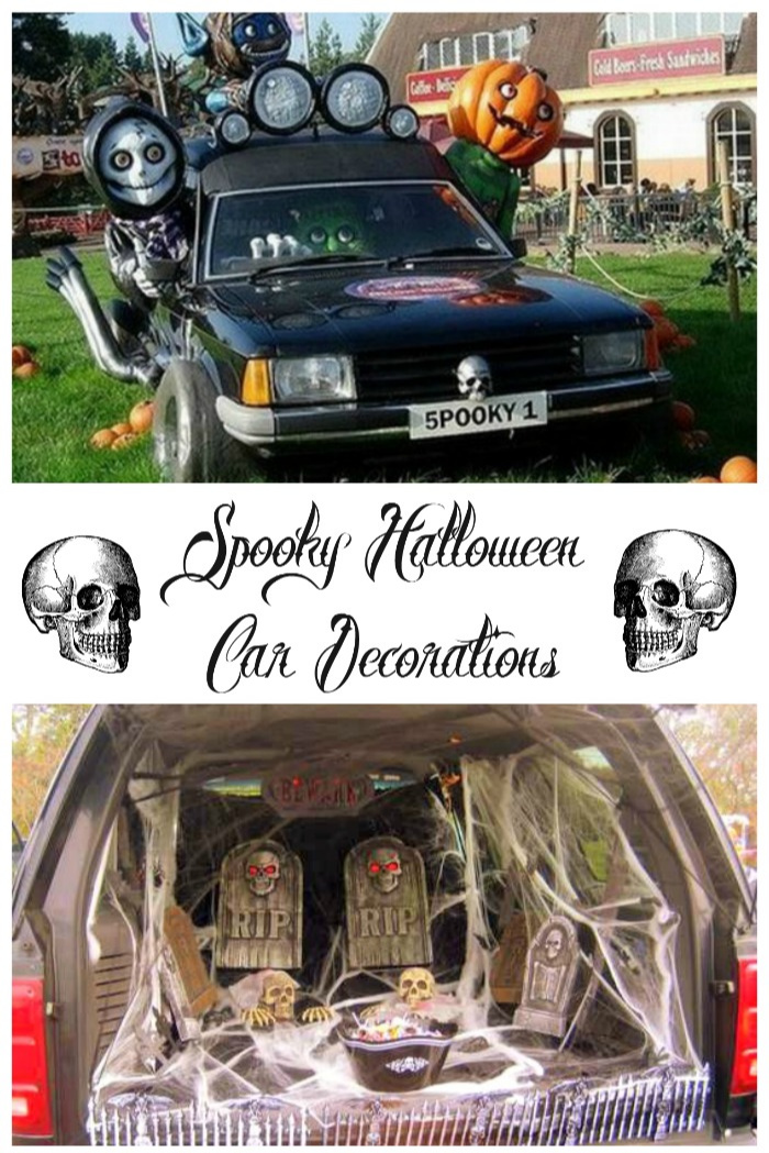 Go all out for Halloween with these spooky car decorations