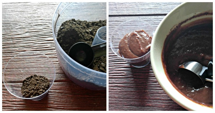 layering dirt cups