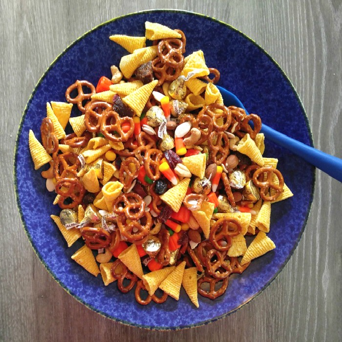 Thanksgiving trail mix