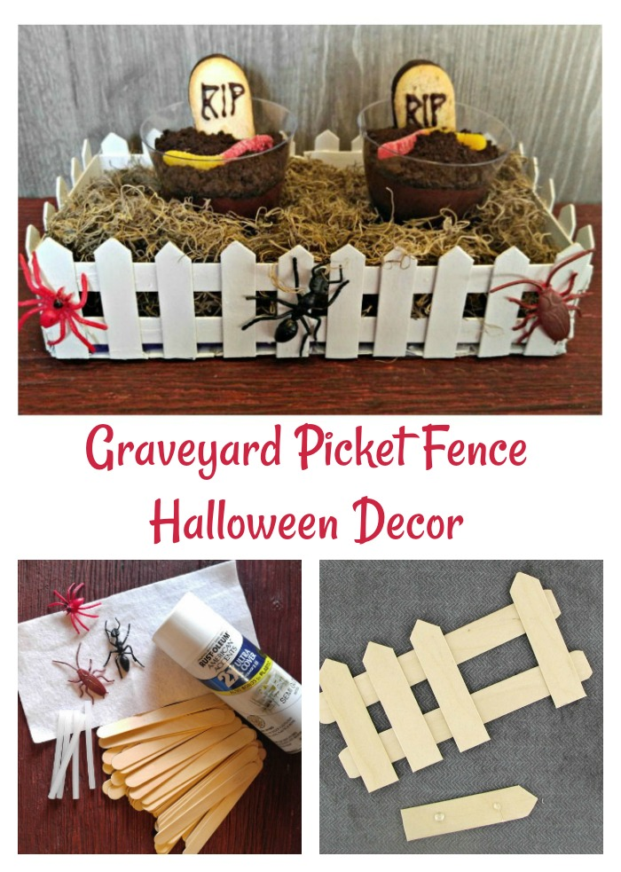 Graveyard Picket Fence project