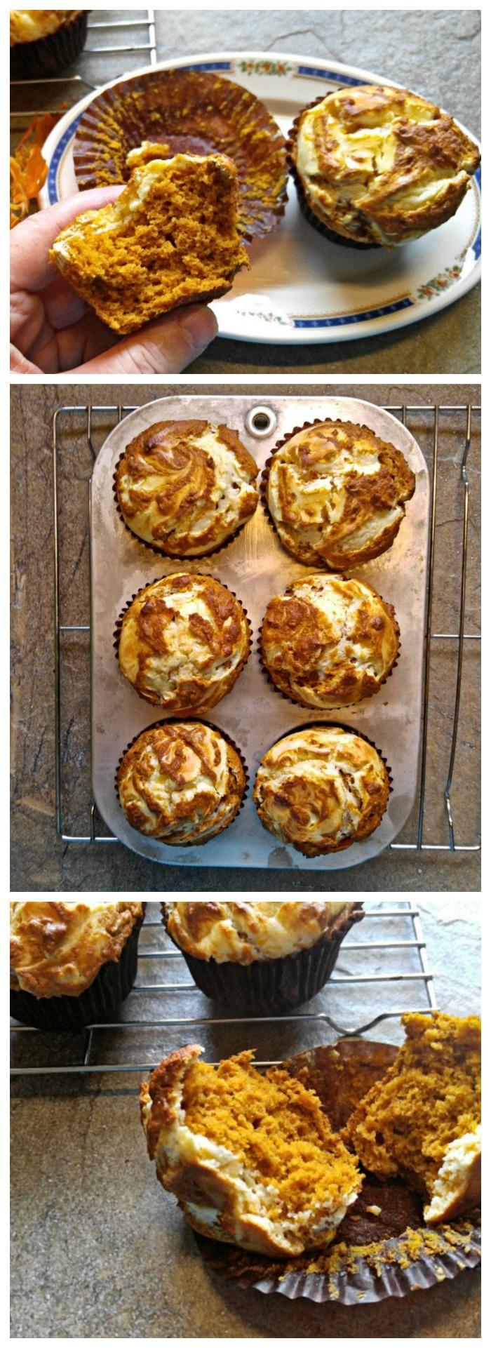 baked pumpkin muffins