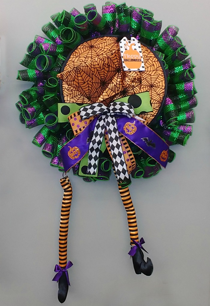 Witch Door wreath