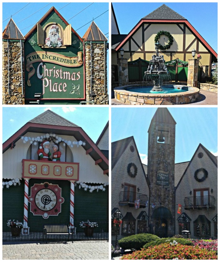 The Incredible Christmas Place buildings