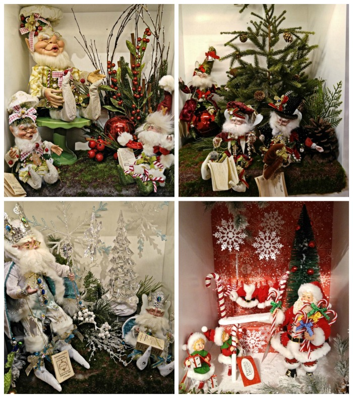 Christmas Shop displays