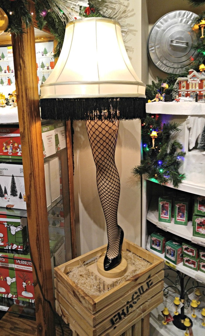 A Christmas story lamp Fragile