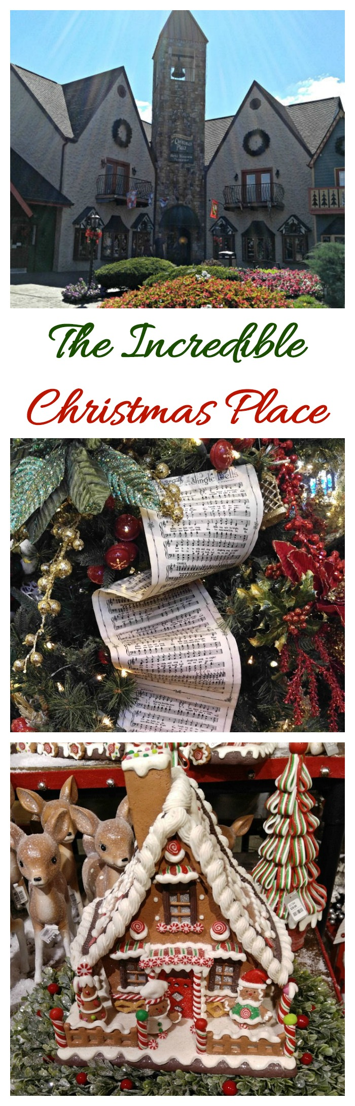 The Incredible Christmas Place is one of the largest Christmas stores in the United States. Join me for a tour. #incrrediblechristmasplace #christmasstore