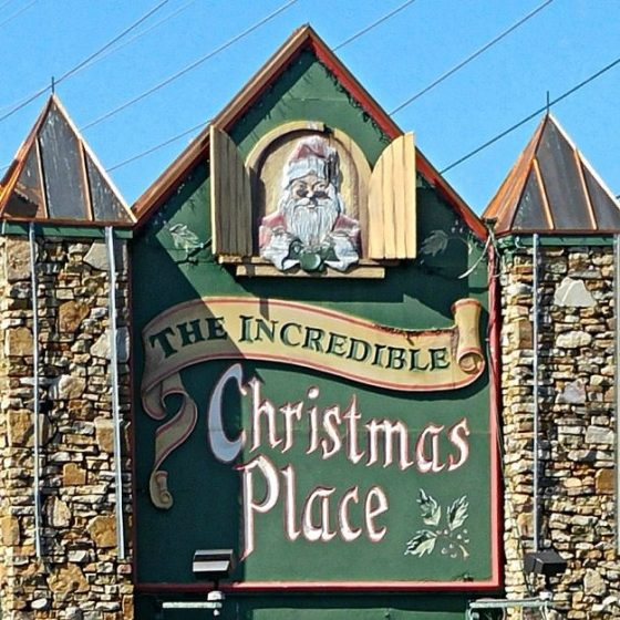 The Incredible Christmas Place Sign