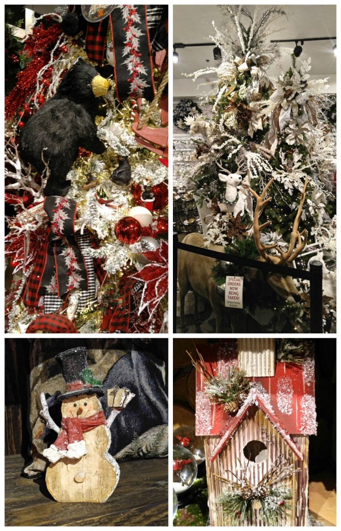 Themed displays for Christmas