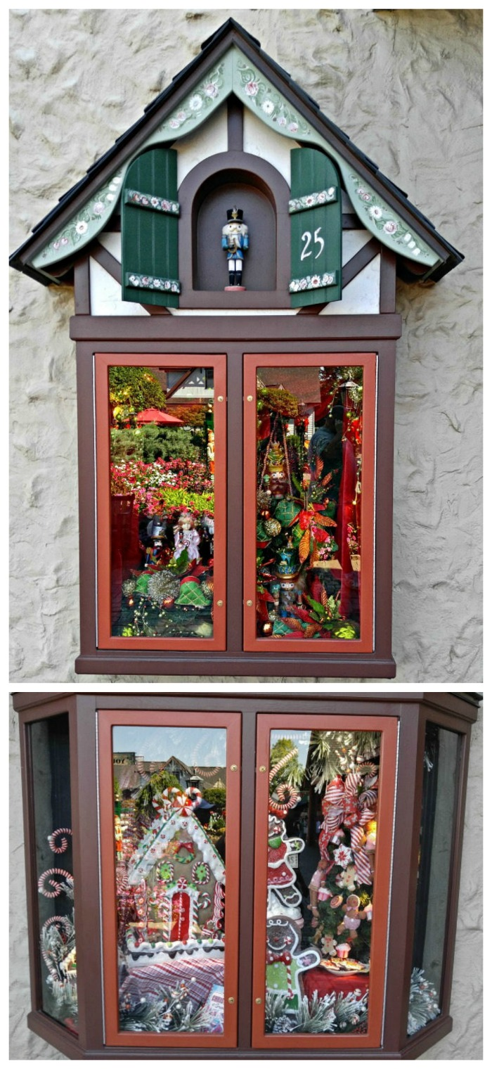Windows of The Incredible Christmas Place
