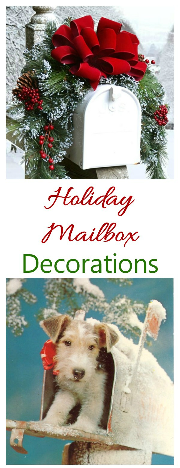 Decorate your mailbox for the holidays with these creative ideas as inspiration.