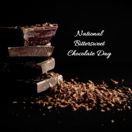 January 10 is National Bittersweet Chocolate Day