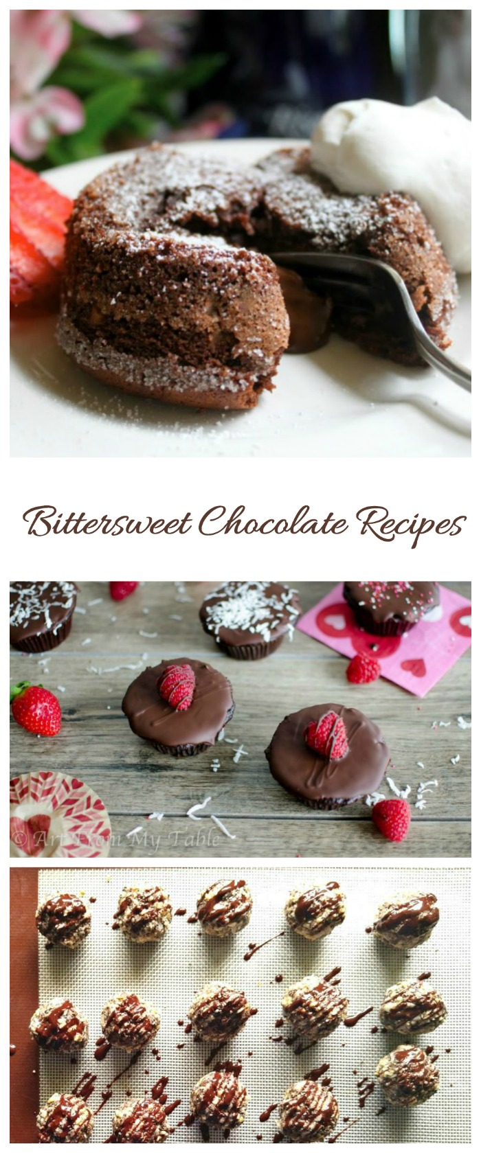 Bittersweet Chocolate has a dark and intense flavor. These recipes showcase it well.
