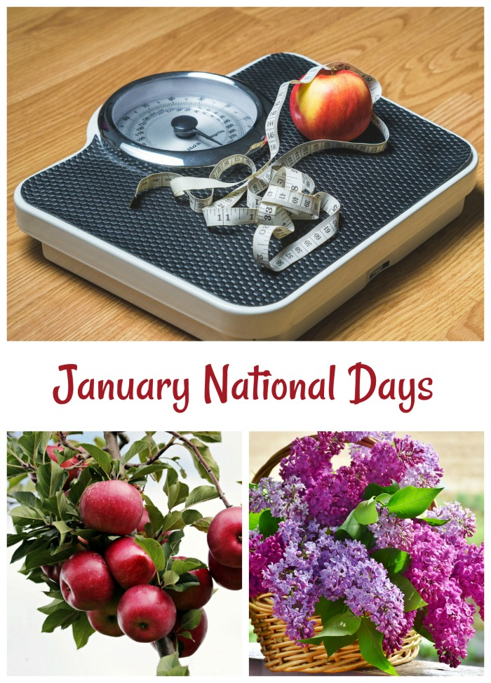 National Days for the month of January