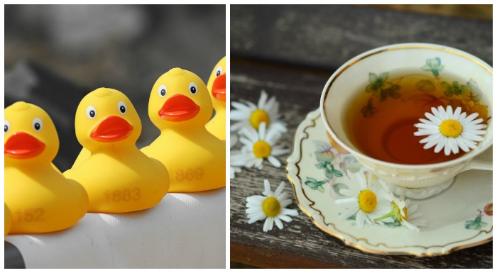 Rubber Duck Day and Cup of Tea Day