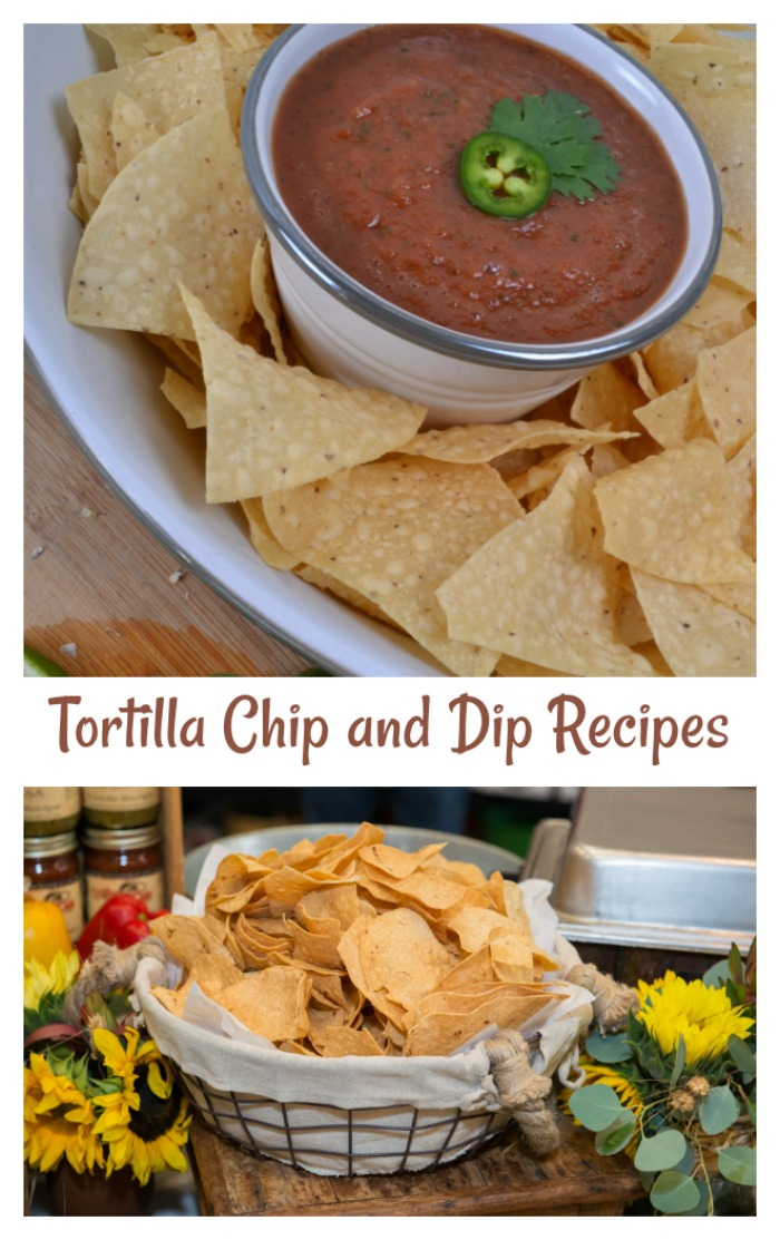 Dips and topping recipes for tortilla chips