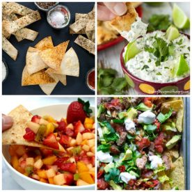 Recipes using tortilla chips
