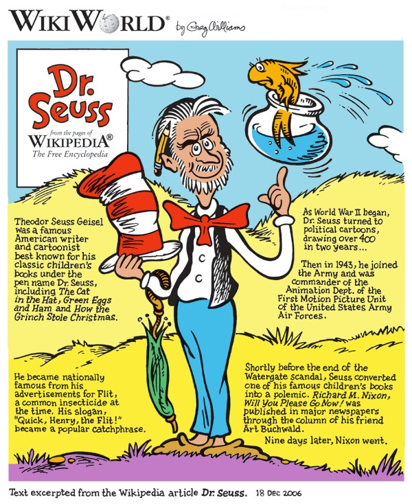 Dr Seuss facts