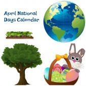 April National Days Calendar