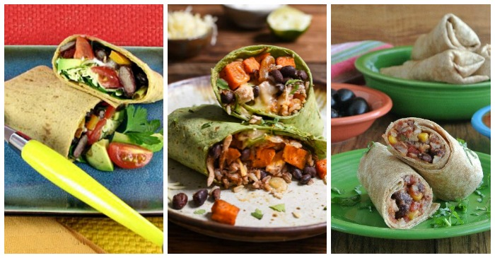 These bean burritos recipes have beans as the start of the favorite Tex Mex dish