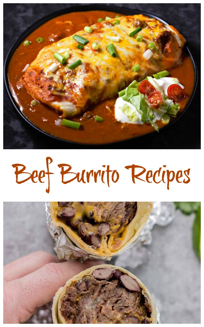 Beef burritos recipes for a traditional Mexican flair