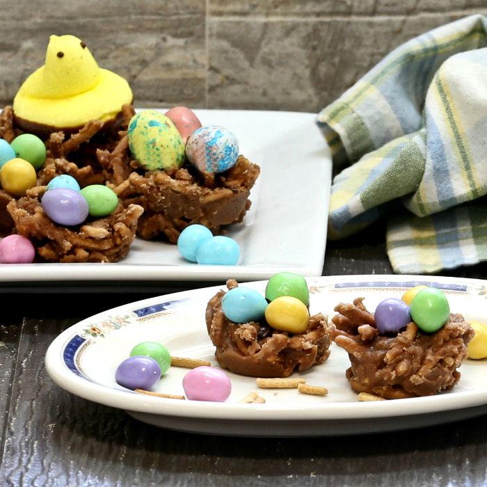 Bird's Nest Cookies - No Bake Easter Recipe